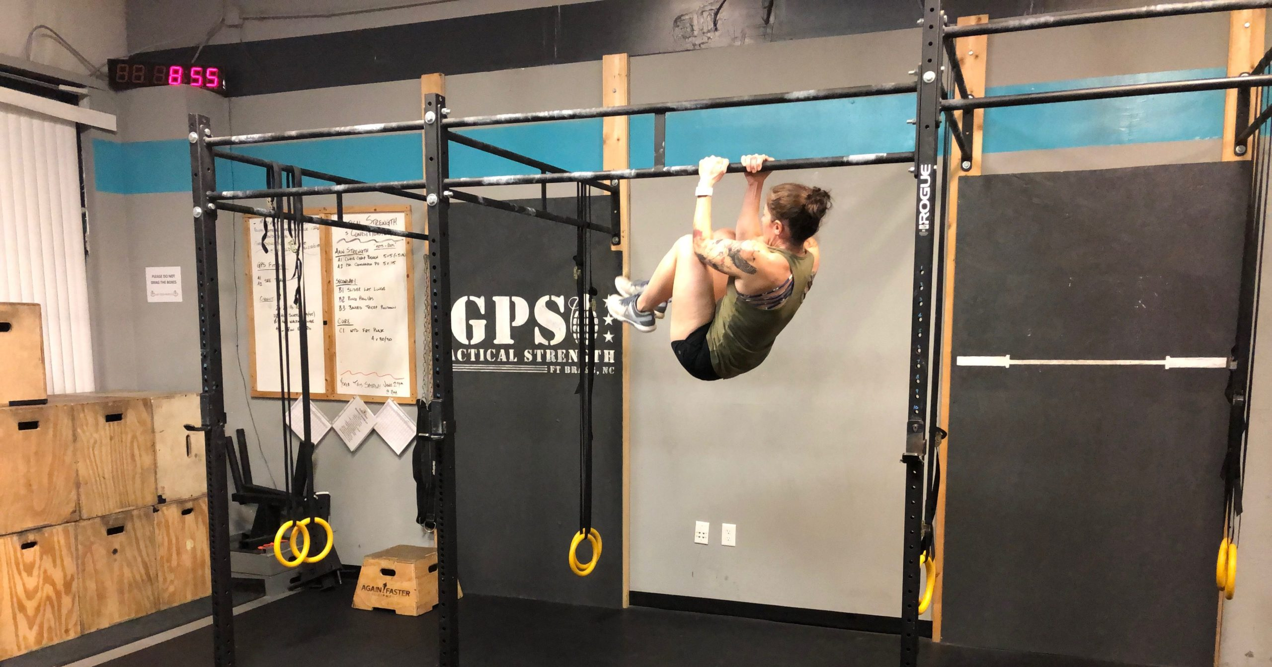 Tactical Training: The ACFT Leg Tuck | GPS Human Performance